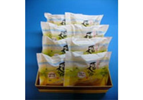 北海道長沼旅情菓『石狩大平野』8個入りの写真